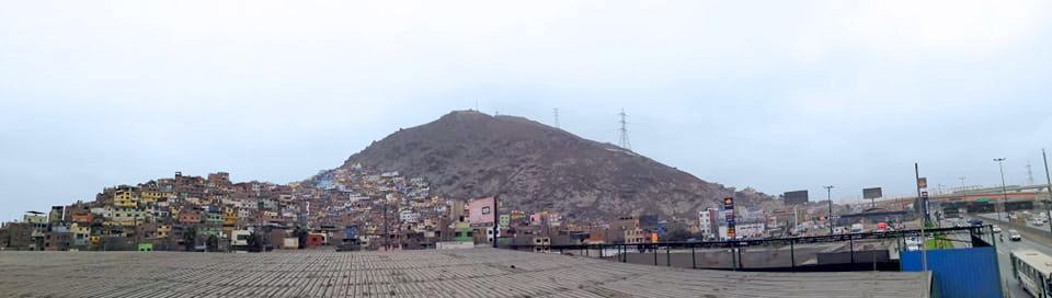 san Cristobal Berg in Lima